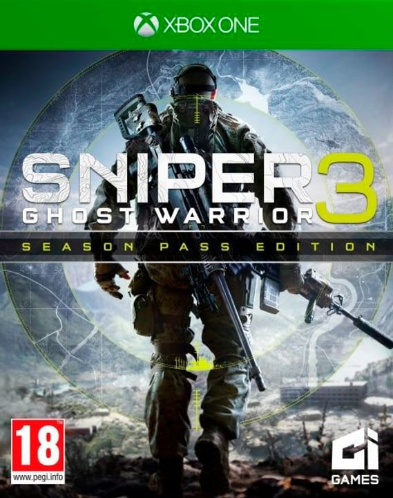 Xbox One - Sniper Ghost Warrior 3 Season Pass Edition Physique (Box) 785300121932 Photo no. 1