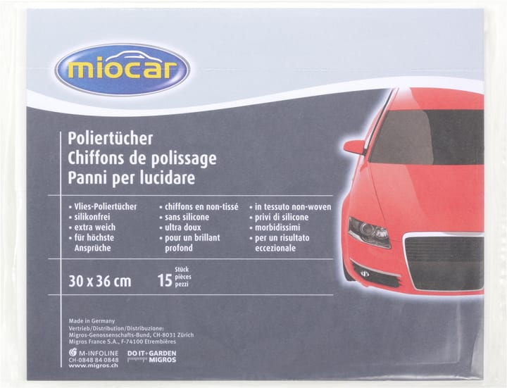 Autopolierung Tuch Miocar 620101600000 Bild Nr. 1