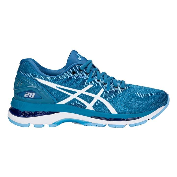 Gel Nimbus 20 Chaussures de course pour femme Asics 463227742541 Couleur bleu claire Taille 42.5 Photo no. 1