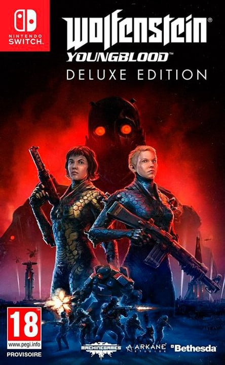 NSW - Wolfenstein: Youngblood Deluxe Edition F Box 785300145206 Photo no. 1