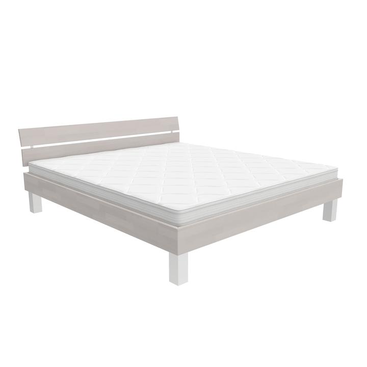 WOODLINE Letto HASENA 403551900000 Colore Bianco Dimensioni L: 180.0 cm x P: 200.0 cm N. figura 1