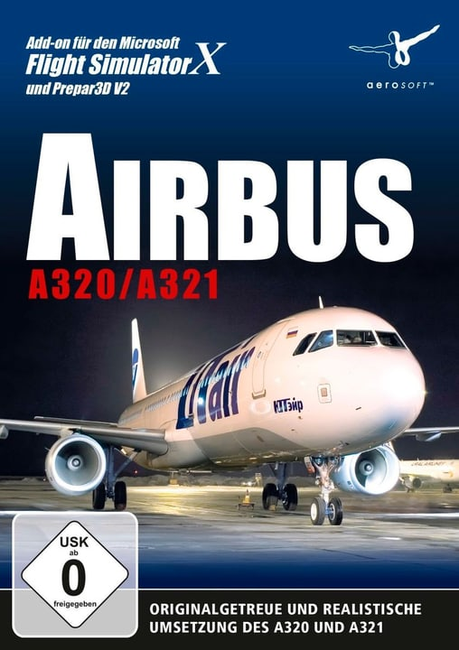 PC - Airbus A320/A321 (Add-On für FSX und Prepar3D V2) Box 785300127053 Photo no. 1