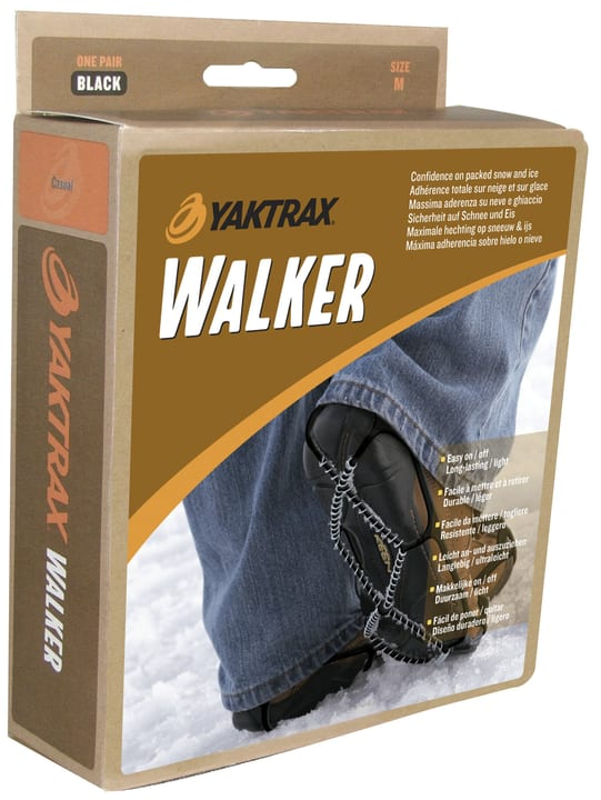 Walker Crampons antidérapants Yaktrax 499664900220 Couleur noir Taille XS Photo no. 1
