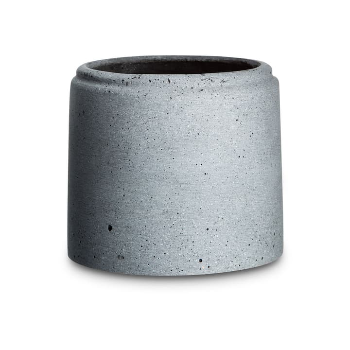 MILENO Cache-pot 382045200000 Dimensions L: 14.5 cm x P: 14.5 cm x H: 16.0 cm Couleur Gris foncé Photo no. 1