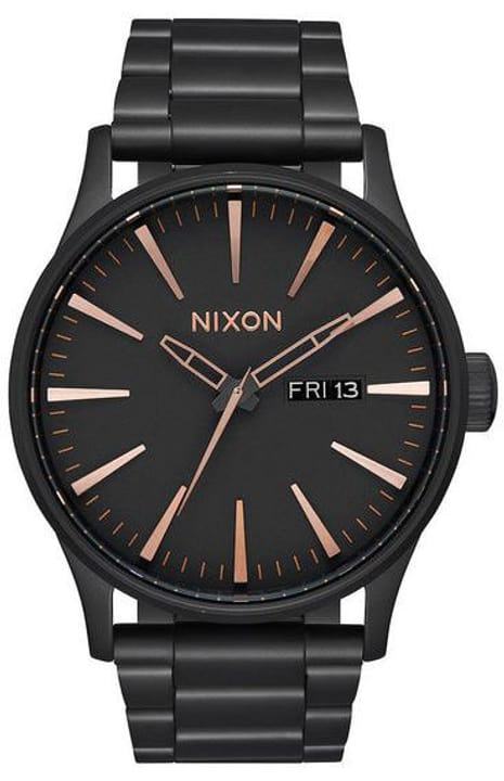 Sentry SS All Black Rose Gold 42 mm Orologio da polso Nixon 785300137043 N. figura 1