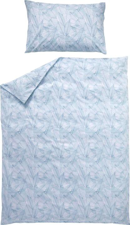 CATALINA Federa per cuscino in percalle 451188310641 Colore Azzurro Dimensioni L: 65.0 cm x A: 65.0 cm N. figura 1
