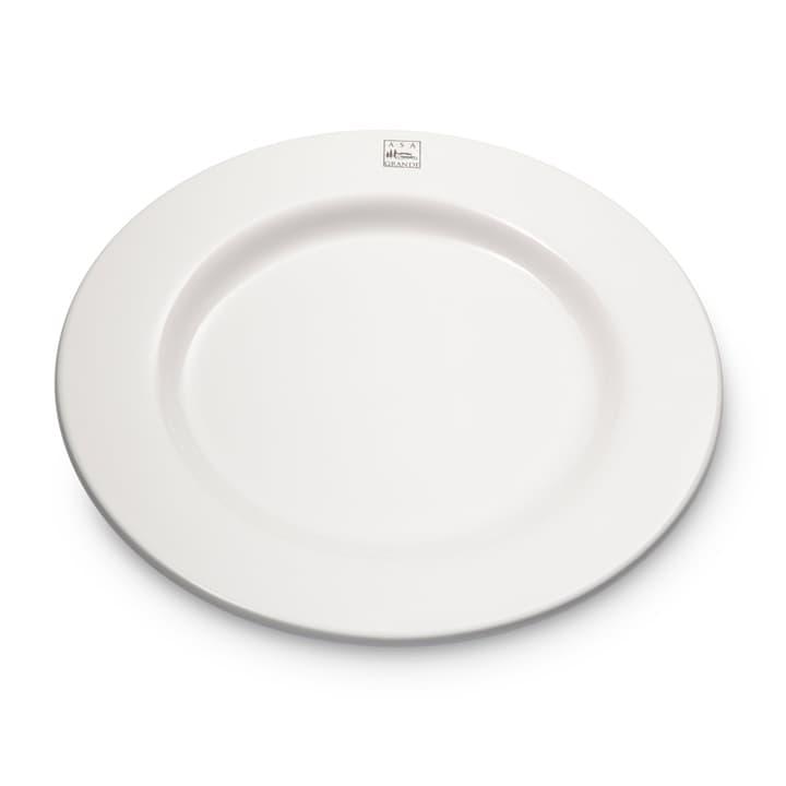 GRANDE Assiette plate ASA 393000122598 Dimensions L: 29.5 cm x P: 29.5 cm x H: 3.0 cm Couleur Blanc Photo no. 1