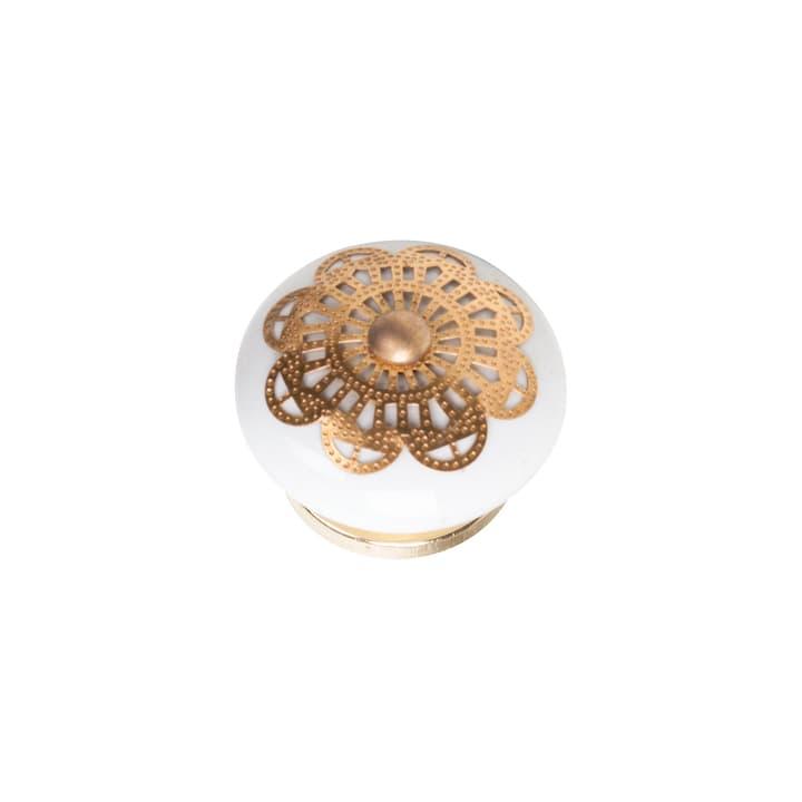 Garderobenknopf  keramik/messing 607126300000 Bild Nr. 1