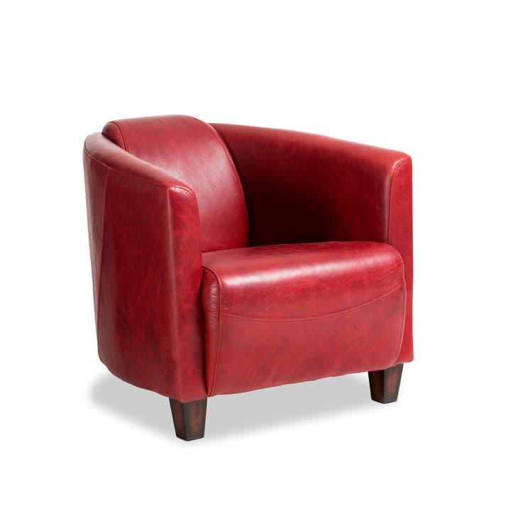 COOPER Poltrona in pelle 360168300000 Dimensioni L: 72.0 cm x P: 83.0 cm x A: 70.0 cm Colore Rosso N. figura 1