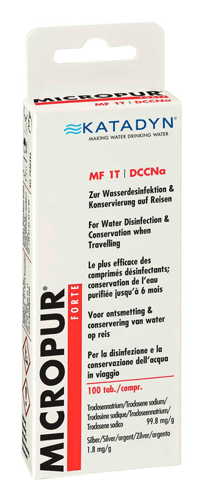 Micropur Forte MF 1T Disinfezione per acqua Katadyn 491277500000 N. figura 1