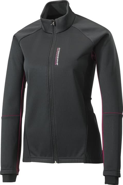 Veste softshell pour femme Crosswave 461365803620 Couleur noir Taille 36 Photo no. 1