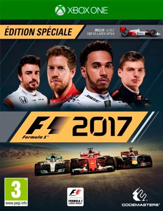 Xbox One - F1 2017 Special Edition Fisico (Box) 785300122629 N. figura 1