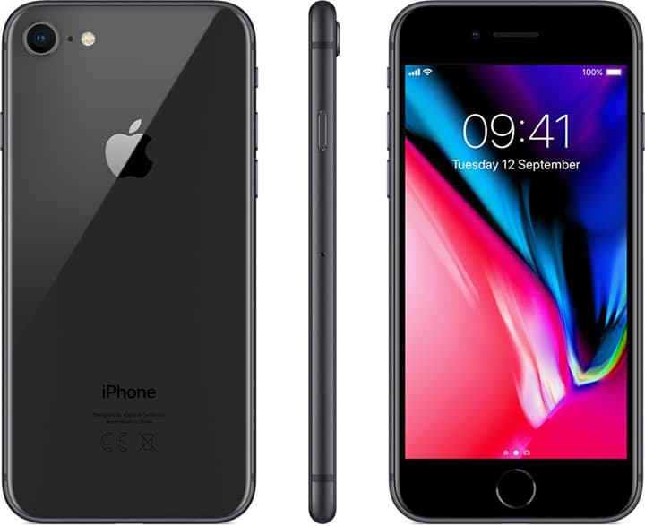 iPhone 8 64GB Space Grey Smartphone Apple 794623900000 Photo no. 1