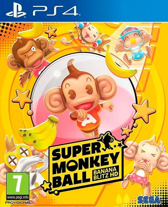 PS4 - Super Monkey Ball: Banana Blitz HD I Box 785300146849 N. figura 1