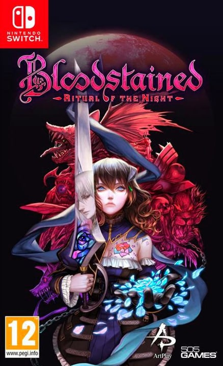 NSW - Bloodstained - Ritual of the Night D Box 785300144473 Photo no. 1