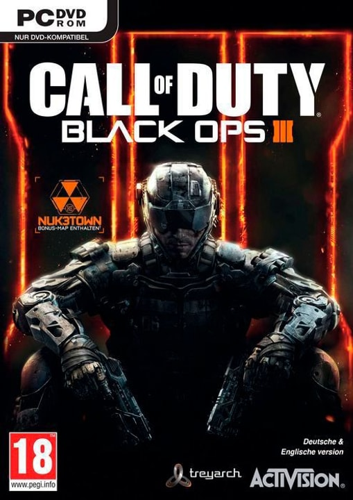 PC - Call of Duty: Black Ops III Physique (Box) 785300122168 Photo no. 1