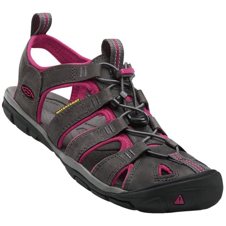 Clearwater CNX Leather Sandali da donna Keen 493451741083 Colore grigio scuro Taglie 41 N. figura 1