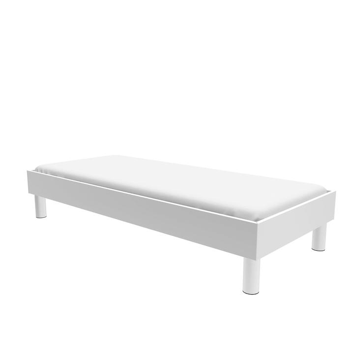 TOPLINE Letto HASENA 403559200000 Colore Bianco Dimensioni L: 100.0 cm x P: 200.0 cm N. figura 1
