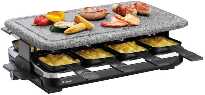 Raclette-Grill Hot Stone 8 Personen Raclette-Grill Hot Stone Trisa Electronics 785300130954 Bild Nr. 1