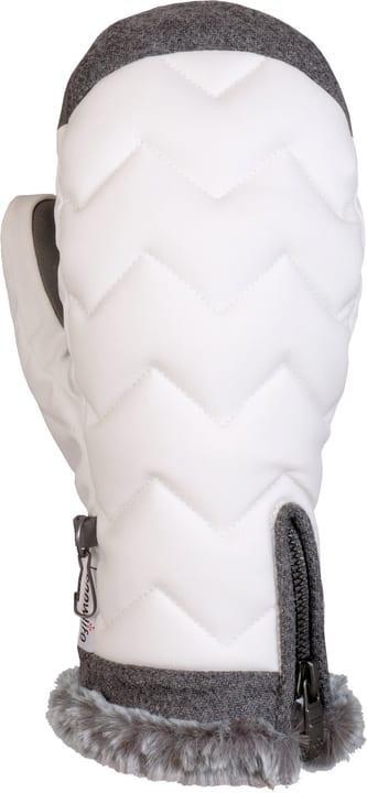 Lady Luxe Mitten Gants de ski pour femme Snowlife 464416106010 Couleur blanc Taille 6 Photo no. 1