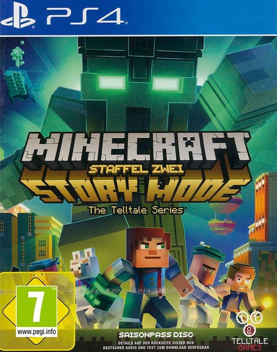 PS4 - Minecraft Story Mode - Staffel 2 Box 785300129300 Photo no. 1