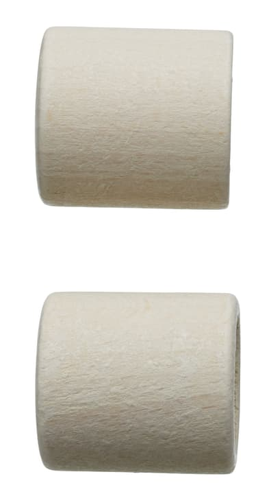 BOIS CHEPPI Embout 430563900010 Couleur Blanc Dimensions L: 30.0 mm x P: 28.0 mm Photo no. 1