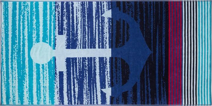 PAULO Serviette de plage 450867122560 Couleur Vert Dimensions L: 90.0 cm x P: 180.0 cm Photo no. 1