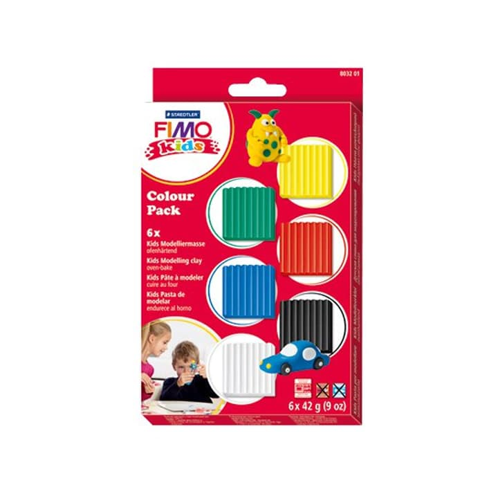 Kids materialpackung basic Fimo 665553700000 Bild Nr. 1