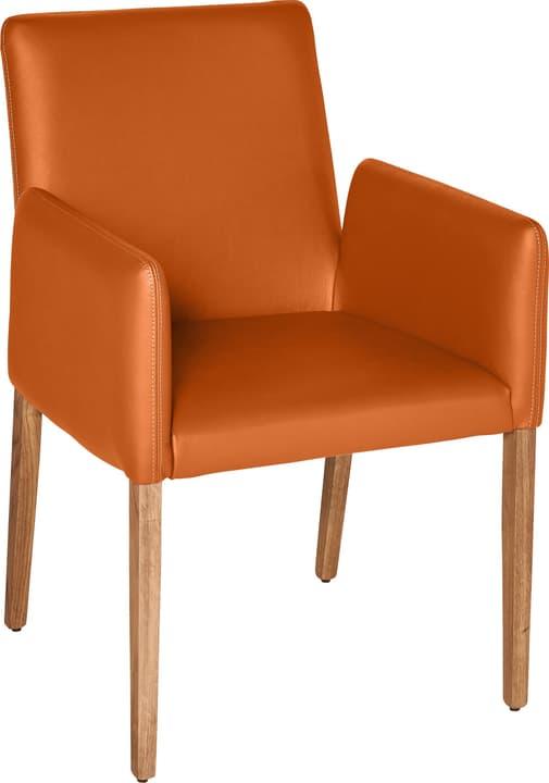 PIRAS Stuhl 402358000057 Grösse B: 58.0 cm x T: 55.0 cm x H: 86.0 cm Farbe Orange Bild Nr. 1