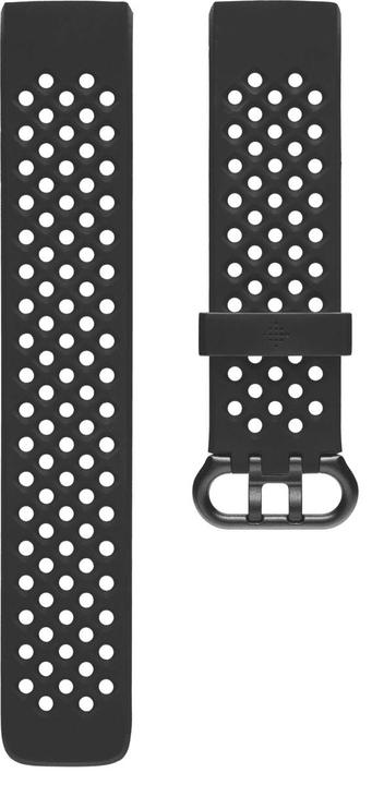 Charge 3 Sportarmband Schwarz Large Sportarmband Fitbit 785300138595 Bild Nr. 1
