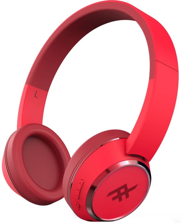 Coda Wireless Cuffie rosso Ifrogz 785300131707 N. figura 1