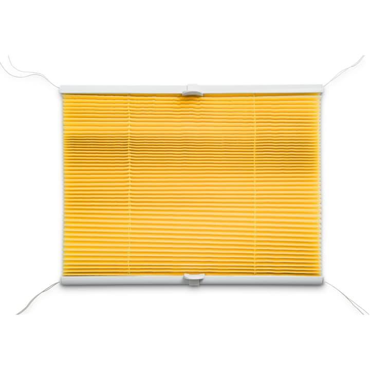 BASIC Plissee 372103800000 Grösse B: 80.0 cm x H: 160.0 cm Farbe Gelb Bild Nr. 1