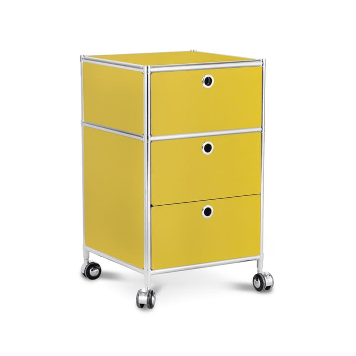 QUADRO Korpus 364017100000 Grösse B: 40.0 cm x T: 40.0 cm x H: 67.5 cm Farbe Gelb Bild Nr. 1
