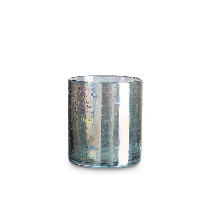 SKAGY Teelichthalter 396063600000 Grösse B: 12.5 cm x T: 12.5 cm x H: 14.0 cm Farbe Grün Bild Nr. 1