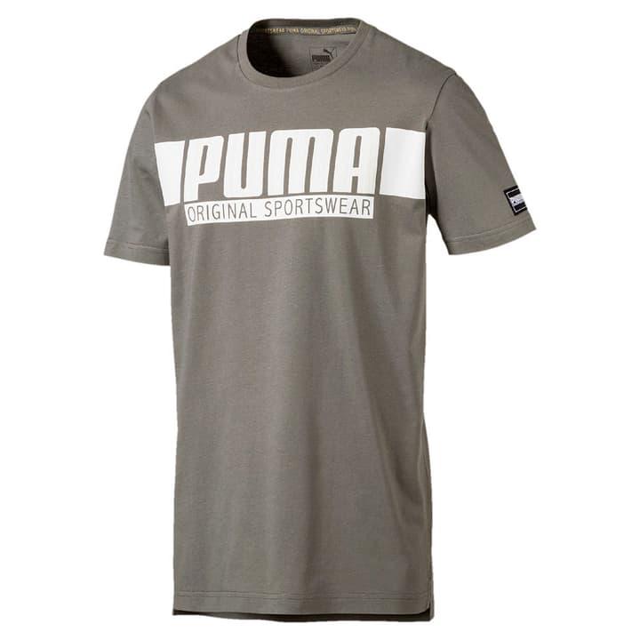 STYLE Athletics Graphic Tee T-shirt pour homme Puma 462381500664 Couleur kaki Taille XL Photo no. 1