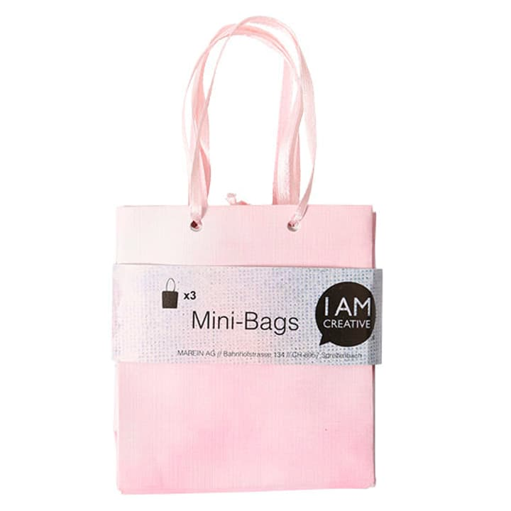 Mini Sac, rosa, 8 x 8.9 x 4 cm, 3 pzz. I AM CREATIVE 666211200000 N. figura 1