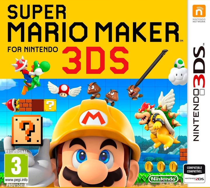 3DS - Super Mario Maker Fisico (Box) 785300121415 N. figura 1