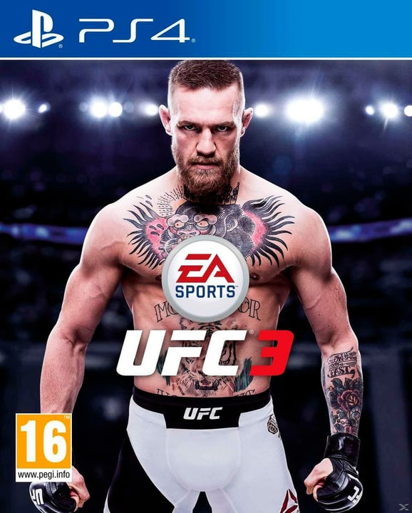 PS4 - EA Sports UFC 3 (E/D/F) Box 785300131991 Photo no. 1