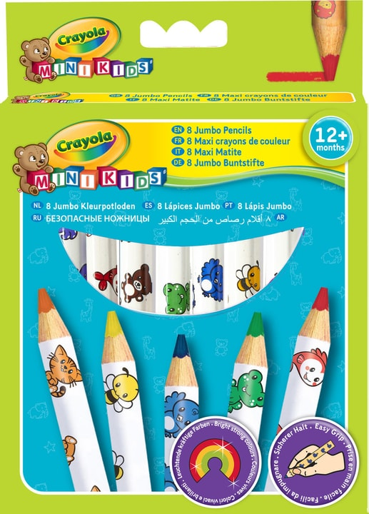 8 Maxi crayons de couleur 746102600000 Photo no. 1