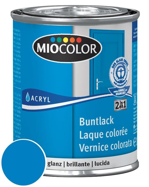 Acryl Vernice colorata lucida Blu genziana 375 ml Miocolor 660541300000 Contenuto 750.0 ml Colore Blu cielo N. figura 1