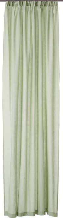 CANDELA Rideau prêt à poser opaque 430271521861 Couleur Vert clair Dimensions L: 150.0 cm x H: 260.0 cm Photo no. 1