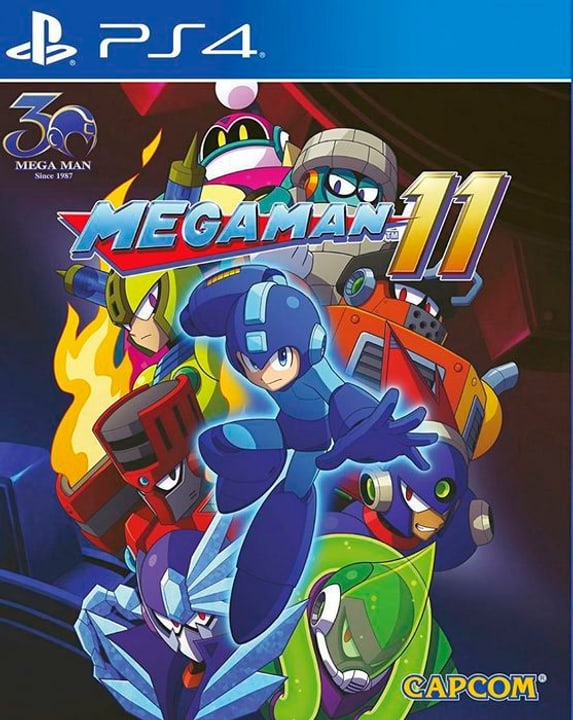 PS4 - Mega Man 11 Box 785300138137 Photo no. 1