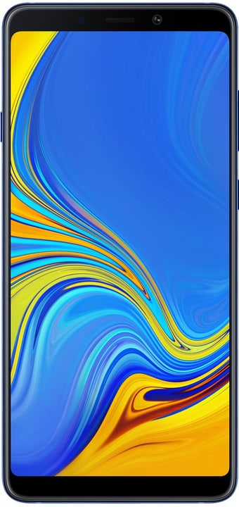 Galaxy A9 Dual SIM 128GB Lemonade Blue Smartphone Samsung 785300140287 Photo no. 1