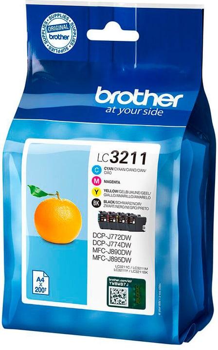 LC-3211V Valuepack CMYBK Tintenpatrone Brother 798278100000 Bild Nr. 1