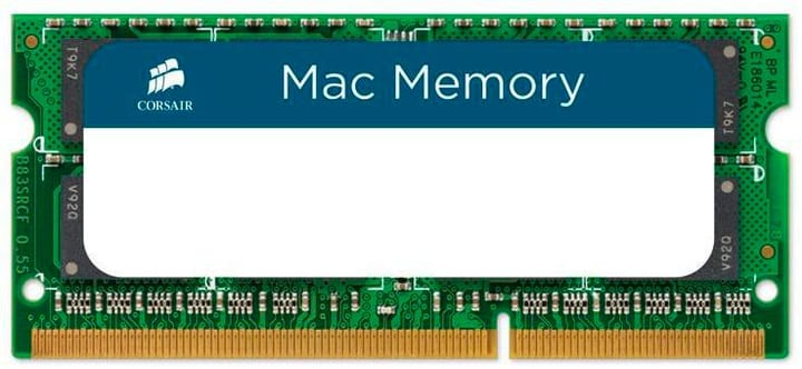 Mac Memory SO-DDR3-RAM 1333 MHz 2x 4 GB Mémoire Corsair 785300150078 Photo no. 1