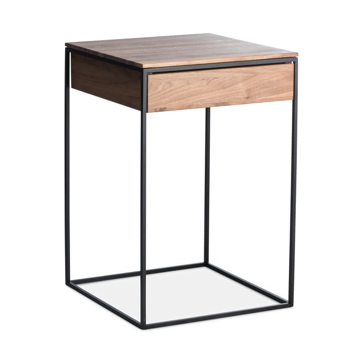 GAIA Table de nuit 364284085031 Couleur Noyer Dimensions L: 41.0 cm x P: 40.0 cm x H: 60.0 cm Photo no. 1