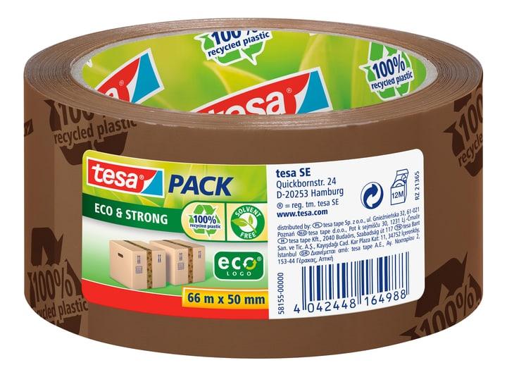 tesapack® eco & strong printed 66m:50mm braun Tesa 663075900000 Bild Nr. 1