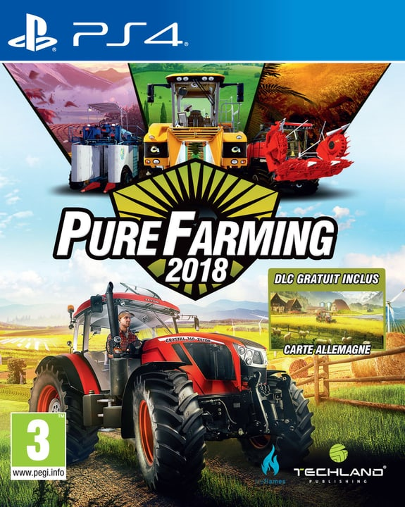 PS4 - Pure Farming 2018 Day One Edition (F) Physique (Box) 785300131687 Photo no. 1