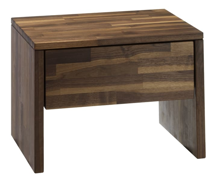 CARA Table de chevet 403406885031 Dimensions L: 48.0 cm x P: 35.0 cm x H: 35.0 cm Couleur Noyer Photo no. 1