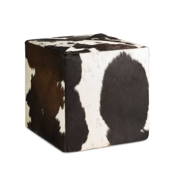 LA VACHE Tabouret 360523008094 Dimensions L: 40.0 cm x P: 40.0 cm x H: 41.0 cm Couleur Noir Photo no. 1